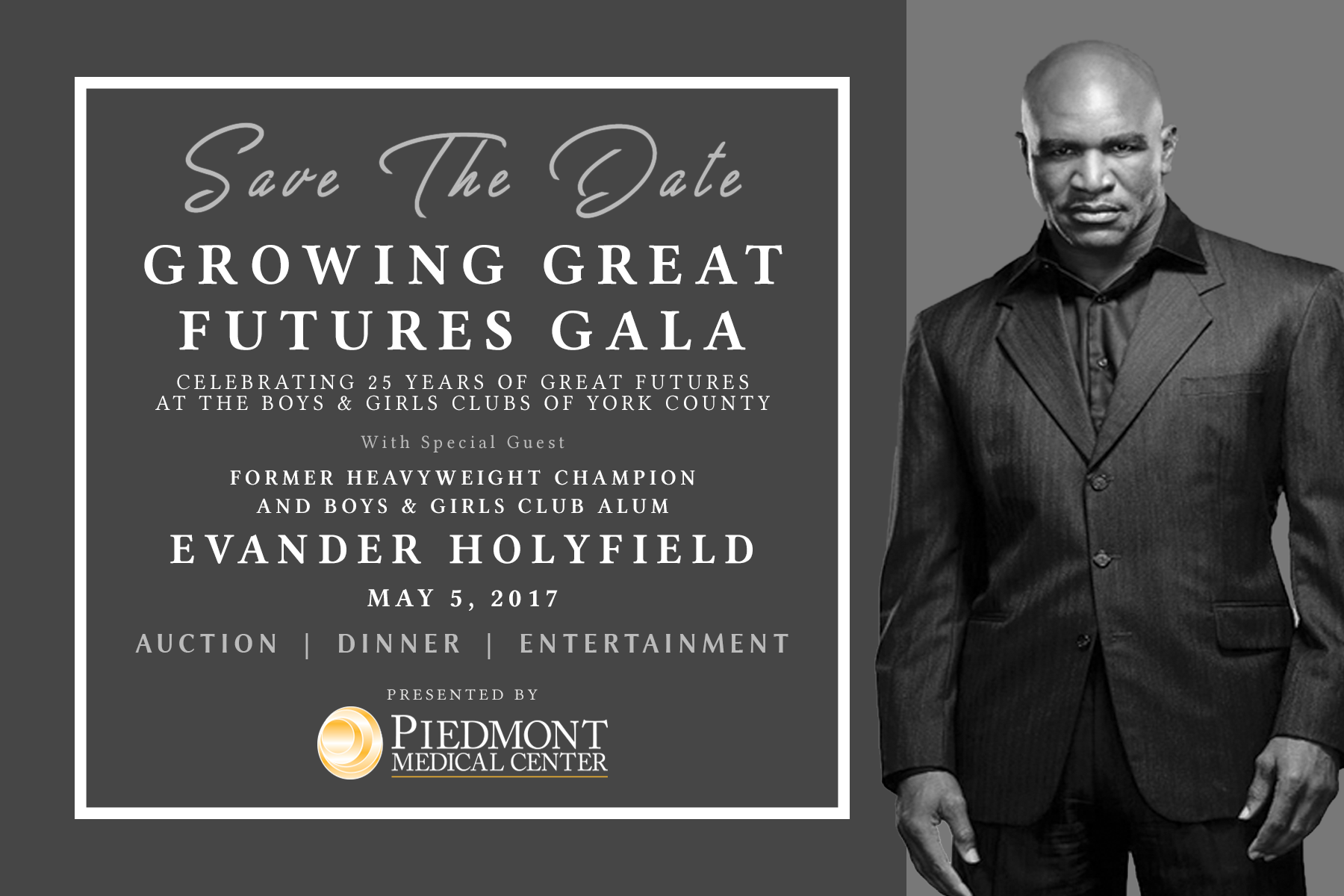 Gala Save The Date – No Hands