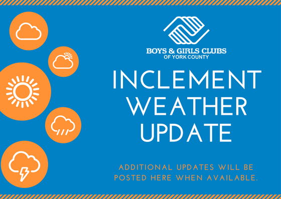 CLUBS CLOSED MONDAY, SEPTEMBER 11, 2017